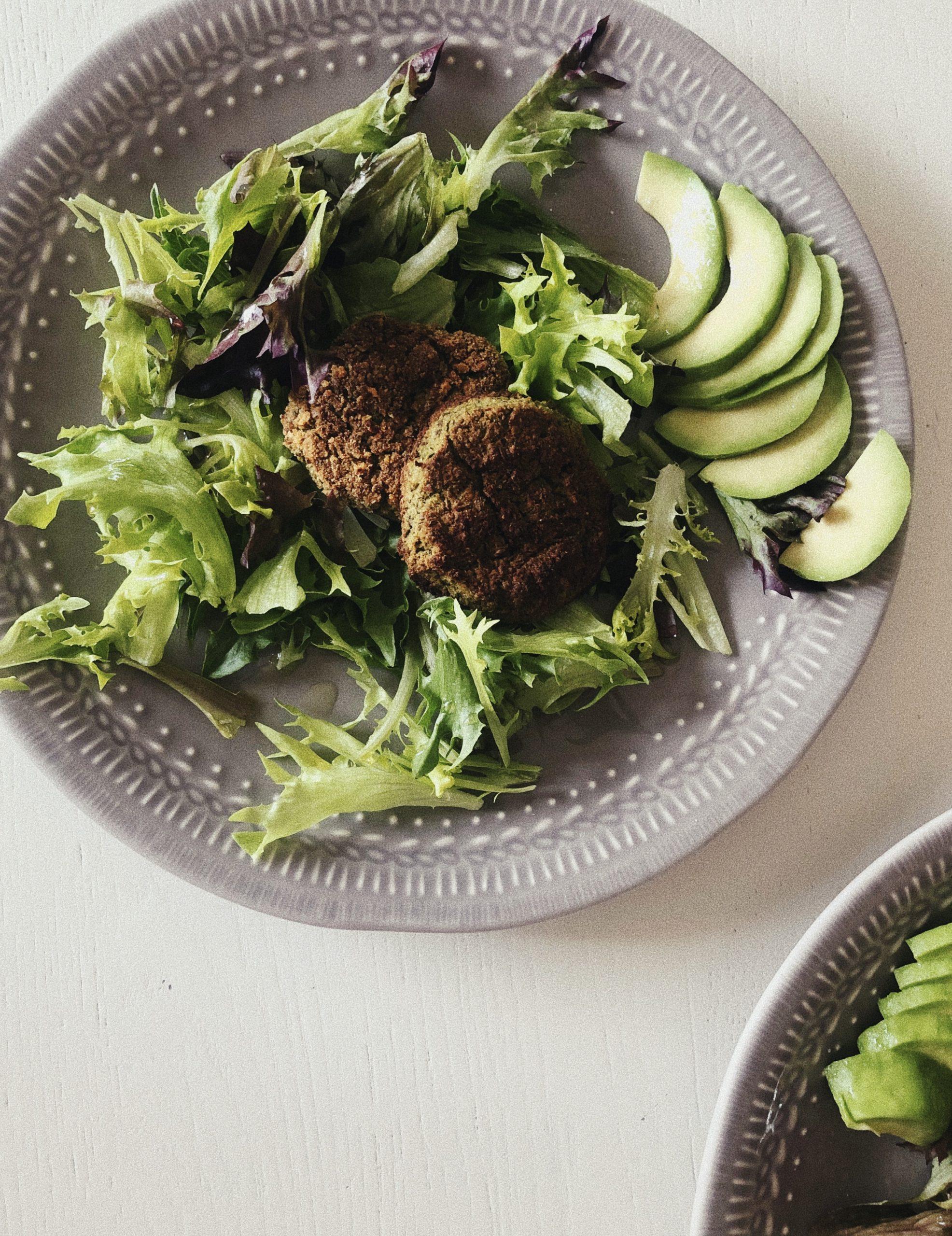 vihreät Falafelit