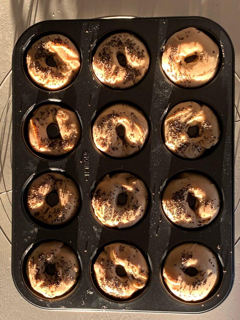 Vapuksi suolaiset donitsit uunissa